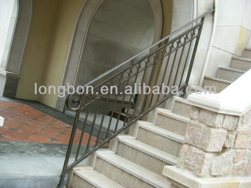 Top Selling Galvanized Outdoor Wrought Iron Stair Railing   Buy Outdoor  Wrought Iron Stair Railing,Outdoor Metal Stair Railing,Wrought Iron Hand  Railings ...