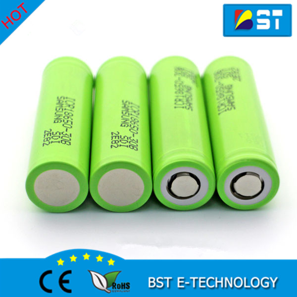 Hot sale High capacity Samsung 18650 3.7V 3000mAh icr 18650 Samsung ICR18650-30B Li ion battery