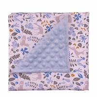 Soft High Quality Minky Baby Blanket
