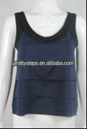 Pretty Steps 2014 latest ladies 3 Frill Top