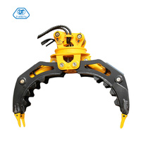 All Size Excavators Stone Rotating Grapple For 15t Mini Bucket Grab