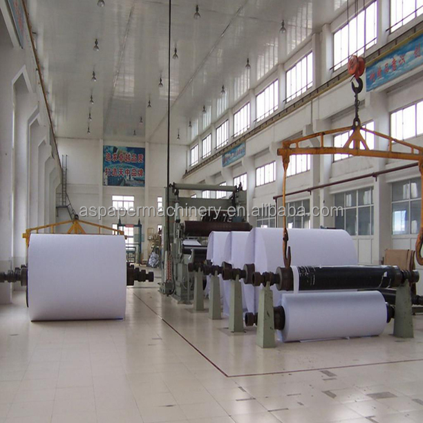 top quality best price office a4 copy paper making machine