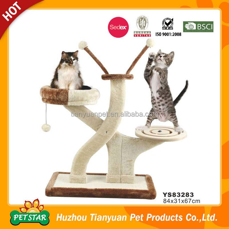 eco safe vip pet carpet cat tree cat furniture cat toy ys83283 cat safe furniture
