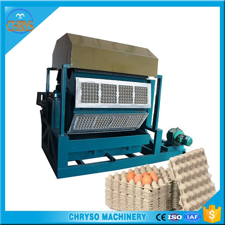 Paper and carton recycling machine for fruit tray |egg tray with a discount
