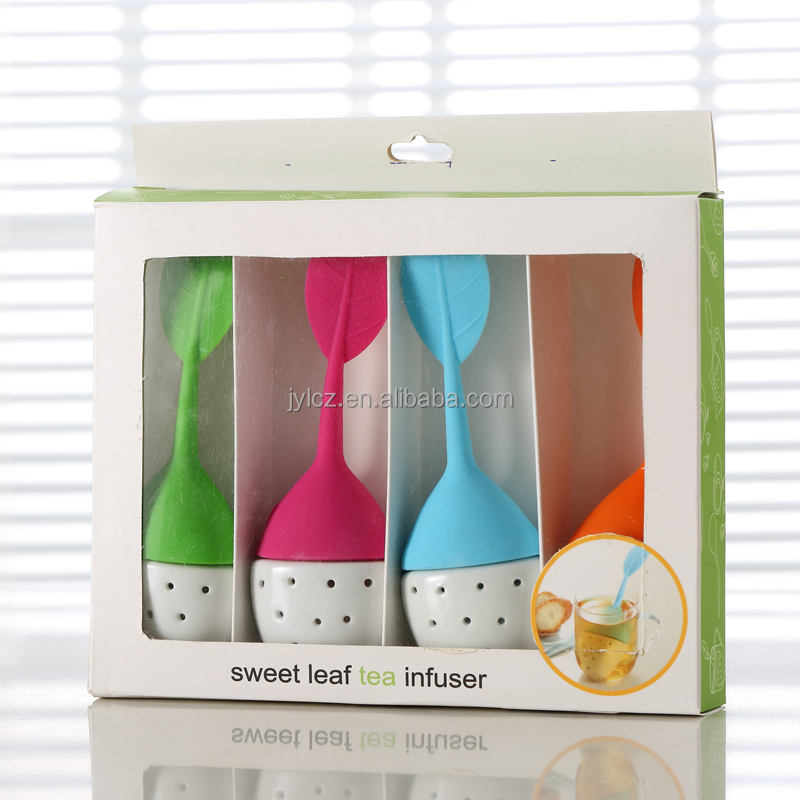 Hot sale cheap price ceramic leaf tea infuser