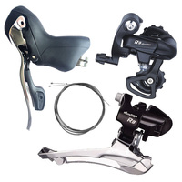 microSHIFT 8 Speed Derailleur Group Road Bike Front Derailleur Rear Derailleurs + Shifter Lever Compatible for Shimano 8 Speed