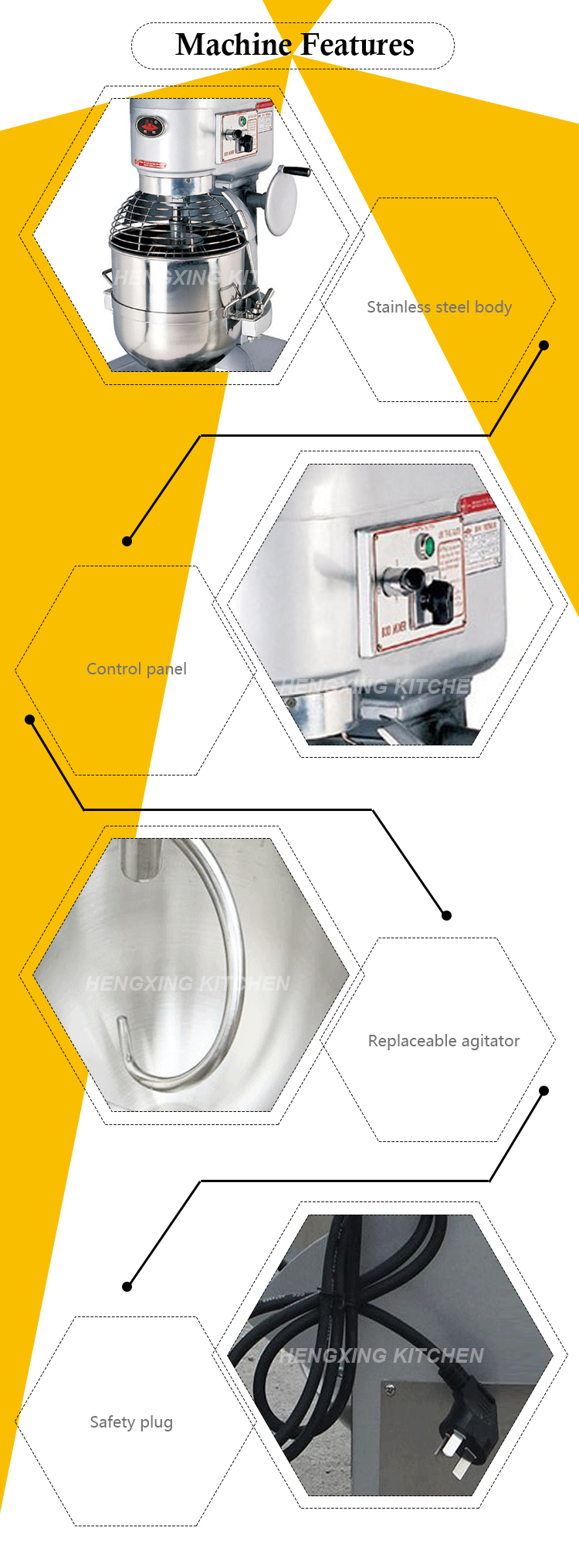 Commercial Heavy Duty Food Preparation Bakery Planetary Dough Mixer Wiring Diagram