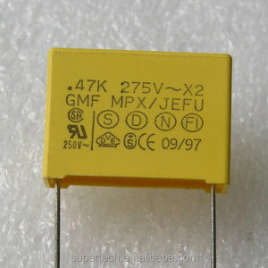 AC capacitor price 1UF 275V Interference Suppression X2 MPX/MKP