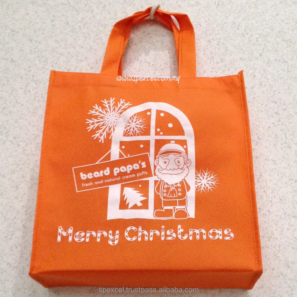 Non Woven Bags Custom Made Eco Bag Penang Merry Christmas Gift Packaging Product On Alibaba