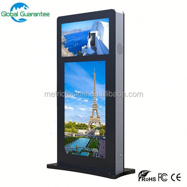 Stand alone CE ROSH IP65 high brightness 7inch 800*480 outdoor lcd display
