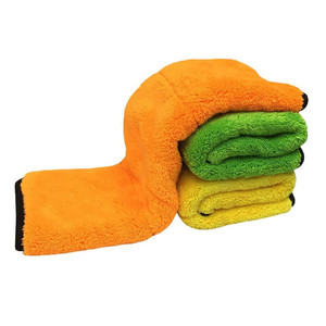Thicken fluffy microfiber car cleaning cloth micro fiber