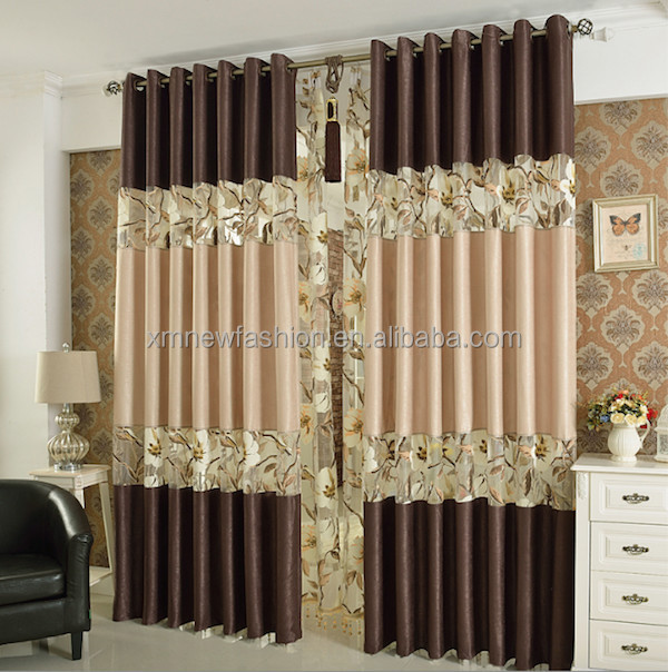 New style embroidered curtain china fabric curtain latest curtain styles buy new styles of - Curtain new design ...