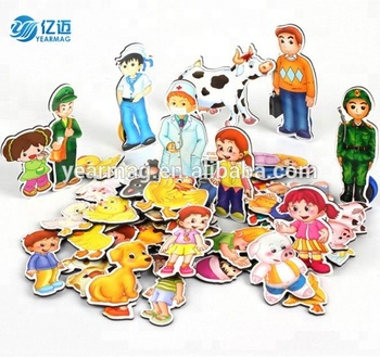 Amazing promotion on alibaba cheap custom flexible die cut soft flat paper fridge magnet for advertisements