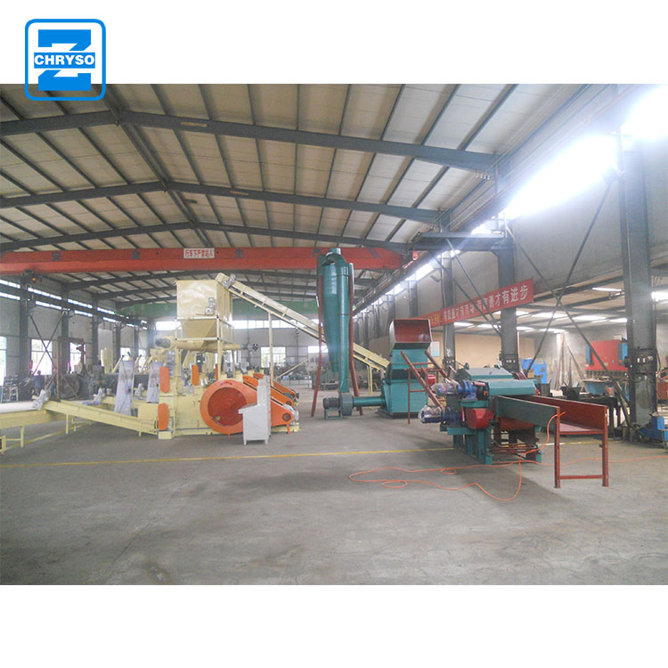 CE approved sawdust production machine wood pallet crusher