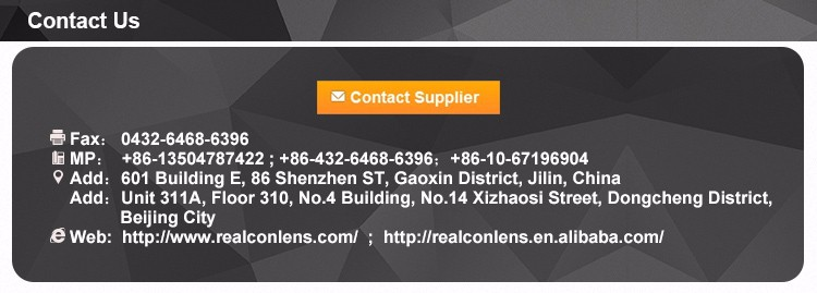 Realcon wholesale HOT SELLING new design korea contact lens color contact lenses