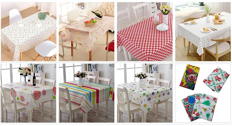 PEVA Wegwerp makkelijk schoon tuin tafel dekken