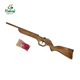 Child toy gun wood rubber band gun