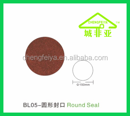 real stone coated metal roof accessories Round Seal
