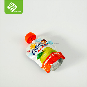 Three layers laminated spout pouch packaging
