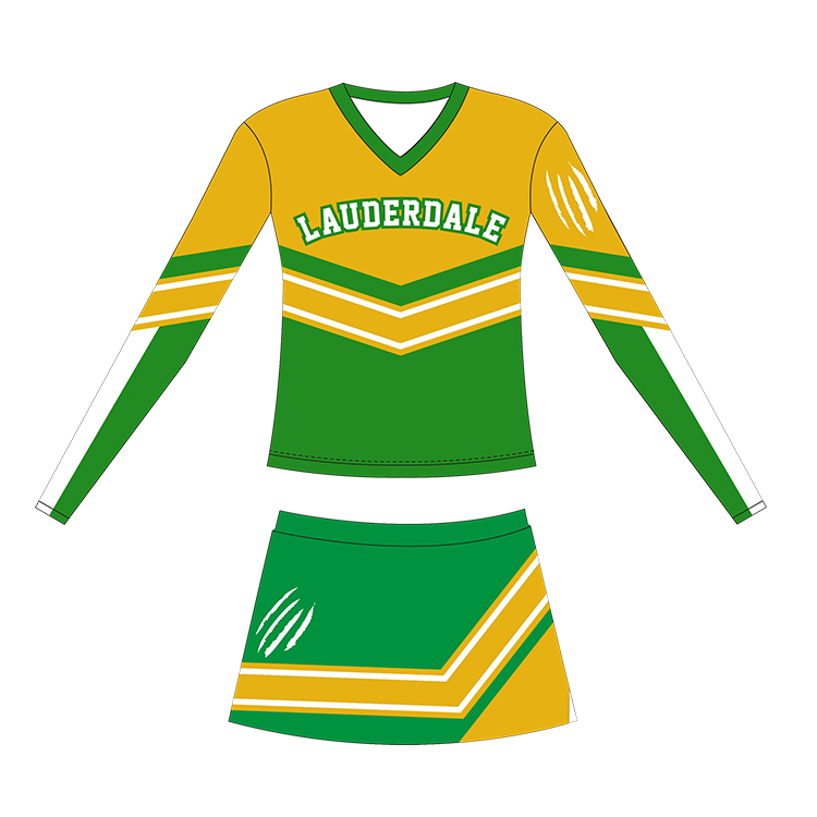 Women Fashion Latest Boys And Girls Cheerleading Dresses Clothing Wear Designs