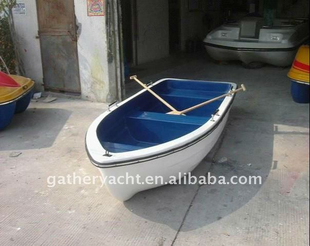 friberglass rowing boat /4 people rowing boat