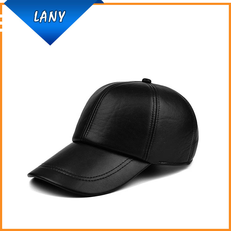 leather baseball cap with fur pom wholesale black bill suppliers manufacturers faux