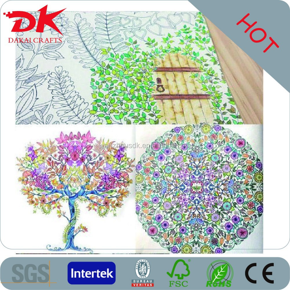 Fashionable Enchanted Forest Coloring Book Free Paiting With Factory Price