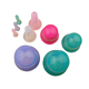 Health care product medical cupping therapy anti cellulite silicone vacuum massage suction cups