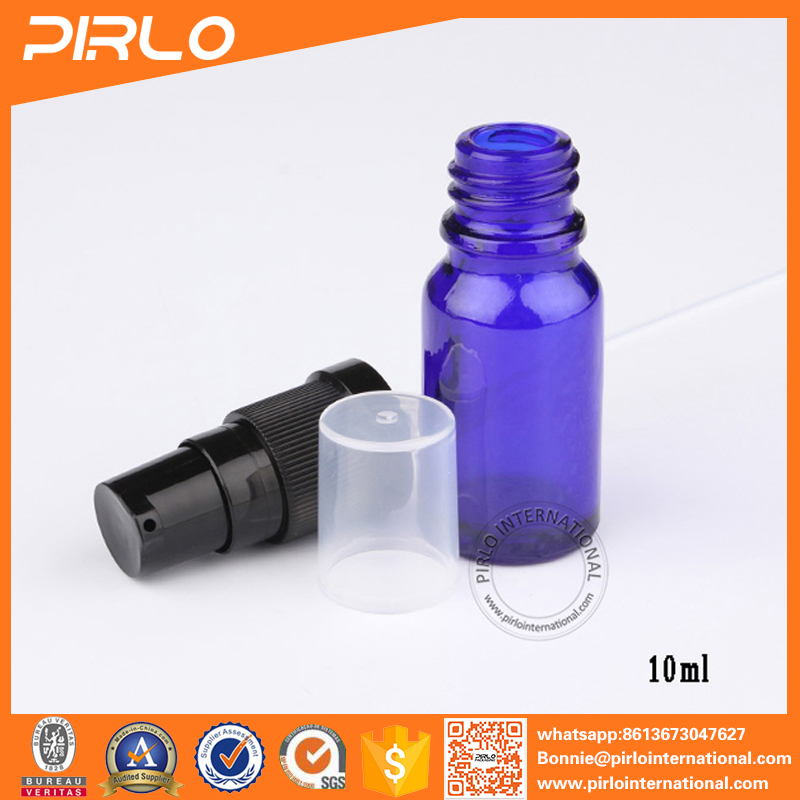 Essential Oil Bottle cobalt blue color glass bottle wholesale