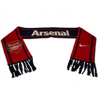 China factory supply reasonable price custom made knitted scarf acrylic duplex printing portable keepsake Football Club scarf