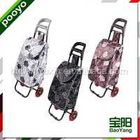 tube folding luggage cart display stand racks made in china