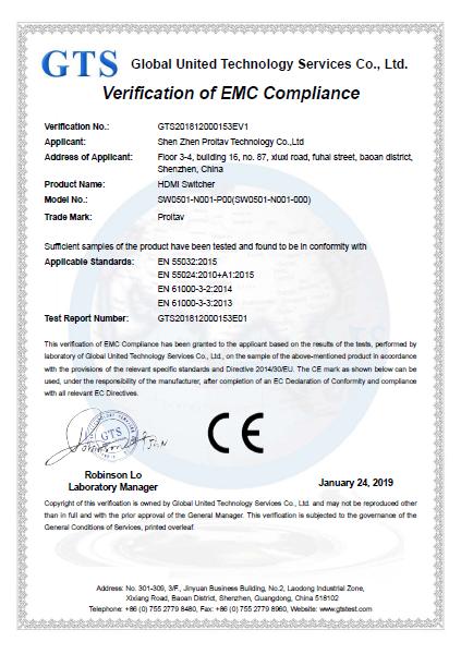 Company Overview - Shenzhen Proitav Technology Co , Ltd