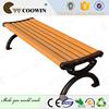 cast iron park bench exported to North America districts