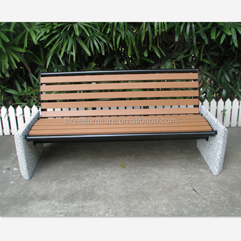 Groovy Recycled Plastic Wood Outdoor Concrete Stone Garden Bench Park Seating Buy Concrete Garden Bench Outdoor Concrete Bench Park Seating Product On Andrewgaddart Wooden Chair Designs For Living Room Andrewgaddartcom