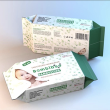 BESUPER 100% Bamboo Natural Fabric 생 분해성 baby wet 쳐/유기 baby wipes/Single 포장 Face 조직으로의
