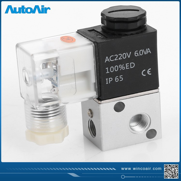 Din Connector Type 3v1 8 2 Position 3 Way Solenoid