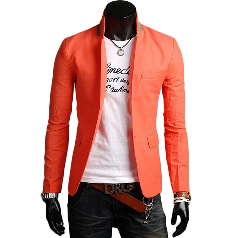 7ad14134b1ab Get Quotations · Summer Mens blazers 2015 Business Casual Linen Men suits  Slim Fit Blazer Set Professional Beautiful Design