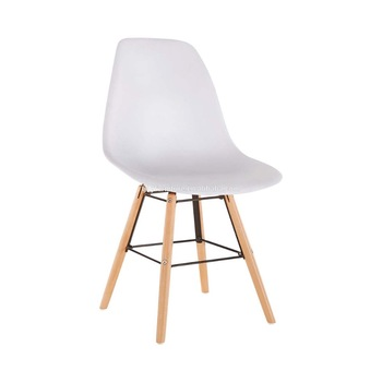 New Model Modern Designer Indoor Shell Plastic Chairs For Sale HYH A304B
