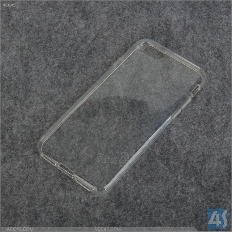 Fabrik Preis TPU Weichen Kunststoff leere glossy clear crystal transparent phone cover-rückseite fall für iphone 7 7 Plus