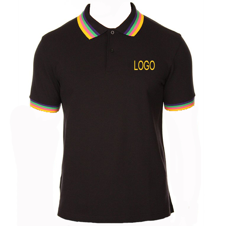 Fcatory Oem Best Quality Men's Blank Short Sleeve Polo T Shirt Cheap Custom