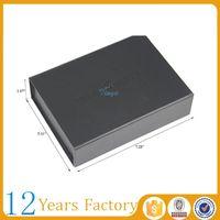 black fancy magnetic paper eye shadow box