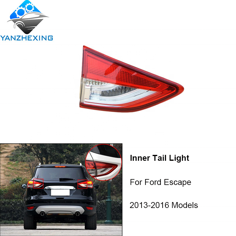 YZX Car Styling for <strong>Ford</strong> Escape <strong>Tail</strong> <strong>Lights</strong> 2014-2016 Kuga LED <strong>Tail</strong> Lamp LED <strong>Tail</strong> <strong>Light</strong> DRL Brake Reverse auto Accessories