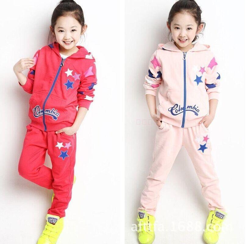 acd96711 Оптовая продажа; детский спортивный комплект одежды; костюм для девочек;  детская одежда онлайн