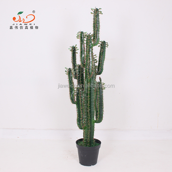 Yiwu Factory Indoor Artificial Desert Cactus Trees And Plants For Home Decoration