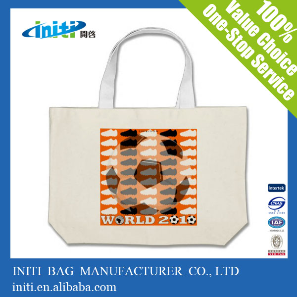 Initi Heavy duty cotton canvas bag for shopping or <strong>promotion</strong>