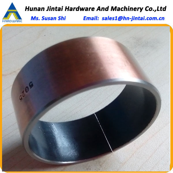 metal sheet with telfon coating bushing/oilless bush/slide bearing