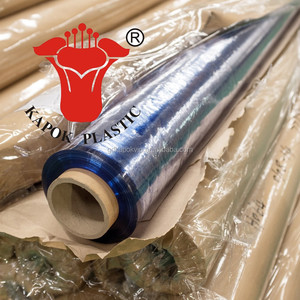 Thickness 0.08mm-0.18m super clear /normal clear pvc/ soft hardness transparent pvc film for packing bags