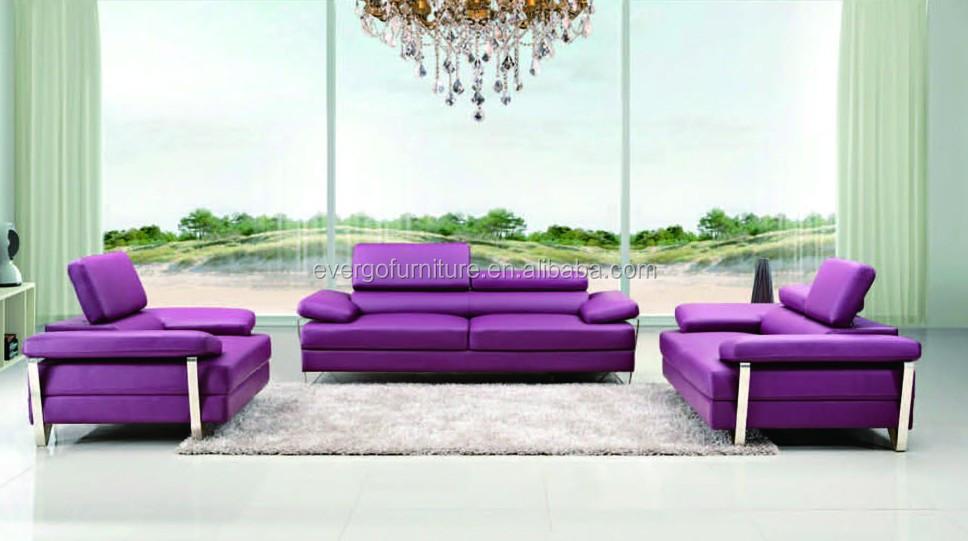 Bonded Leather Home Furniture Sofa Set