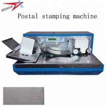 Allraise Automatic Feeding Franking Machine,Self-inking Stamp Post Cancelling Machine
