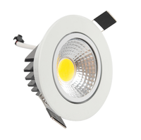 zhongshan china manufacturer recessed round 3w 5w 7w cob led downlight
